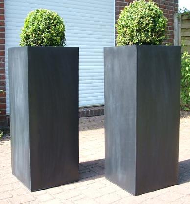 Portal Zink Blumenkübel \