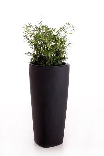 blumenk bel pflanzk bel fiberglas quaron 70cm anthrazit ebay. Black Bedroom Furniture Sets. Home Design Ideas