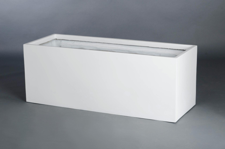 vivanno blumenk bel pflanztrog pflanzk bel fiberglas maxi 120cm wei matt ae trade online. Black Bedroom Furniture Sets. Home Design Ideas