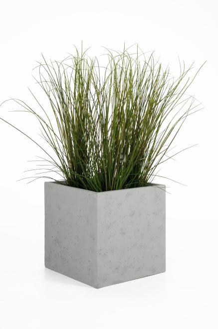blumenk bel pflanzk bel fiberglas block 50 50 50 cm. Black Bedroom Furniture Sets. Home Design Ideas
