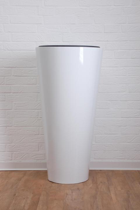 pflanzk bel aus fiberglas rondo classico 100 cm wei. Black Bedroom Furniture Sets. Home Design Ideas