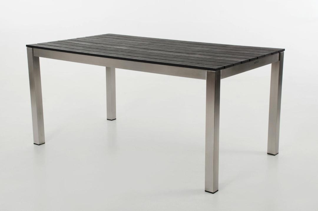 Kettler Gartenmobel Neuss : TAVOLO 160 Gartentisch Esstisch Tisch aus Edelstahl mit Polywood