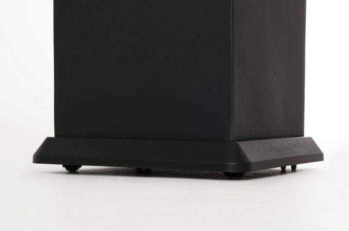 untersetzer mit rollen move 20 f r pflanzk bel quadratisch schwarz ebay. Black Bedroom Furniture Sets. Home Design Ideas