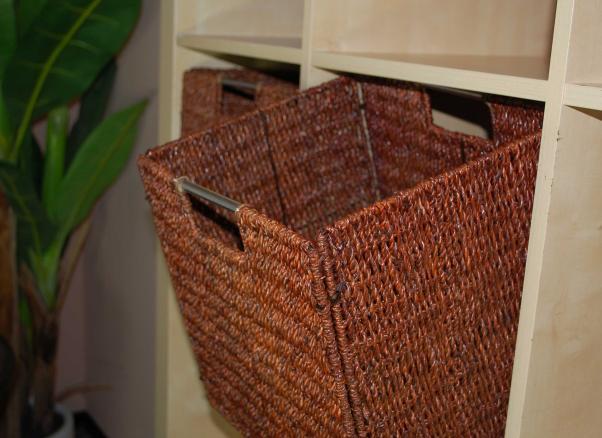 2 regalk rbe seegras f r ikea expedit bonde braun. Black Bedroom Furniture Sets. Home Design Ideas