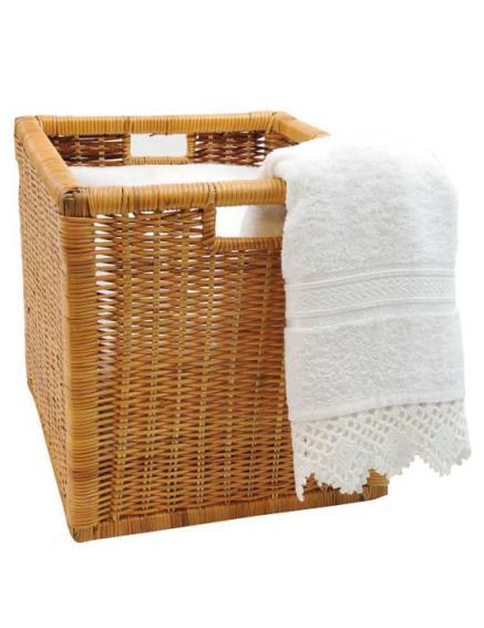 vivanno regalkorb schrankkorb rattan f r ikea expedit und kallax 32cm ebay. Black Bedroom Furniture Sets. Home Design Ideas