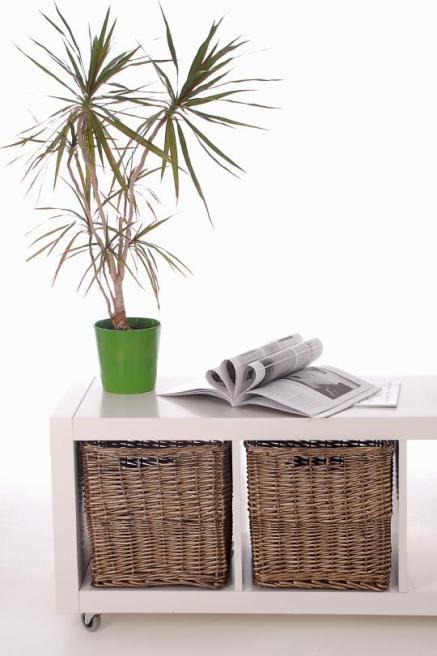 sonderposten 6 regalk rbe aus weide ikea expedit bonde grau ebay. Black Bedroom Furniture Sets. Home Design Ideas
