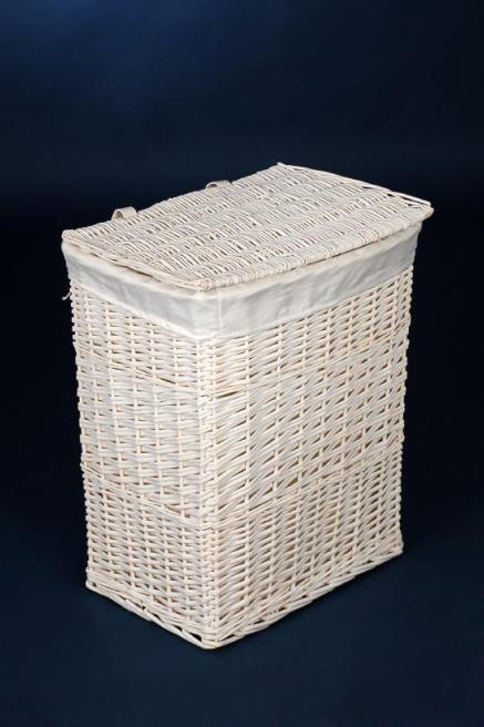 vivanno w schekorb korb weidenkorb aus weide 39 mia 39 65 cm hoch wei ebay. Black Bedroom Furniture Sets. Home Design Ideas