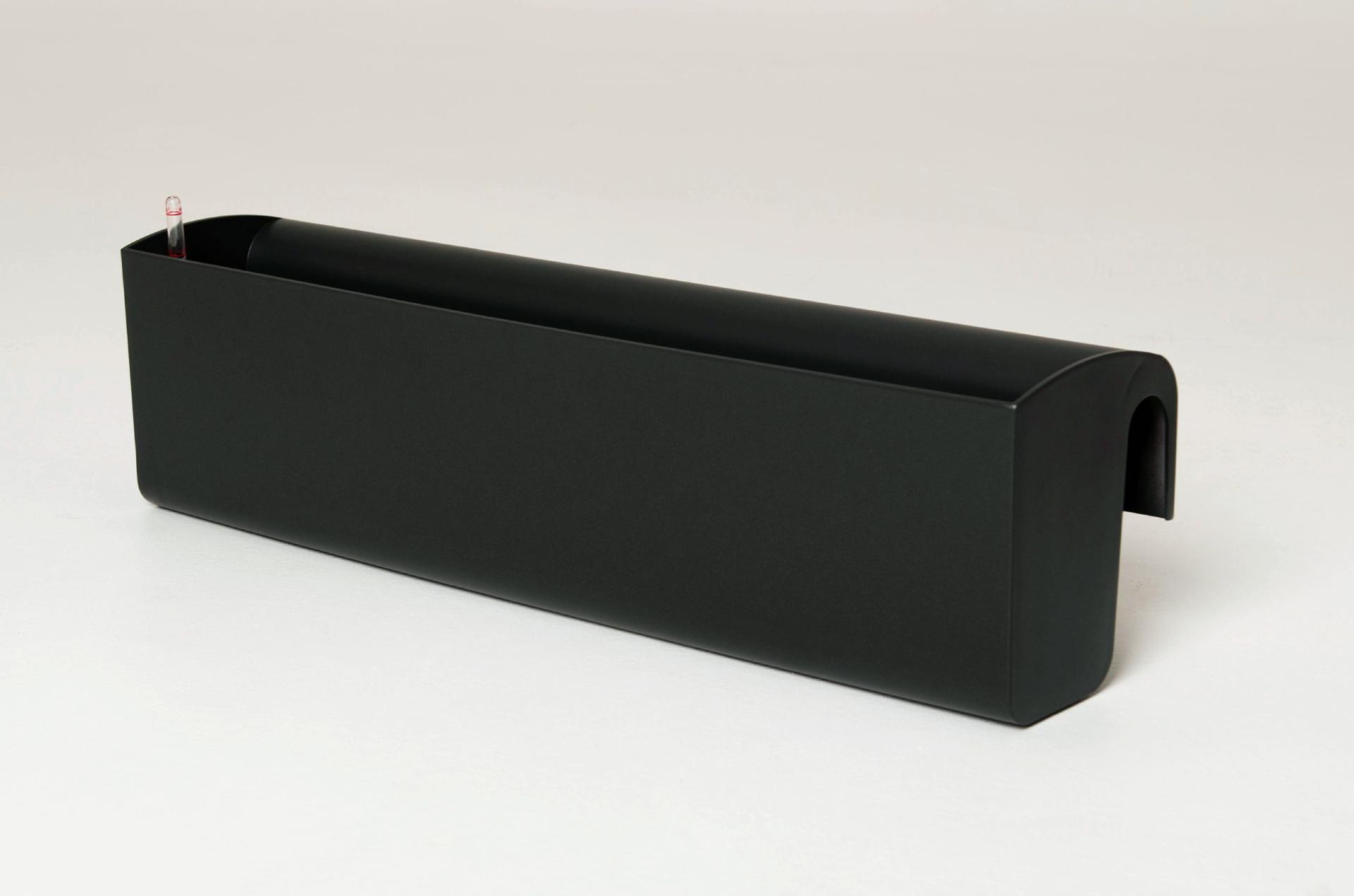balkonkasten blumenkasten balkona classico 80 cm anthrazit bew sserungsset ebay. Black Bedroom Furniture Sets. Home Design Ideas