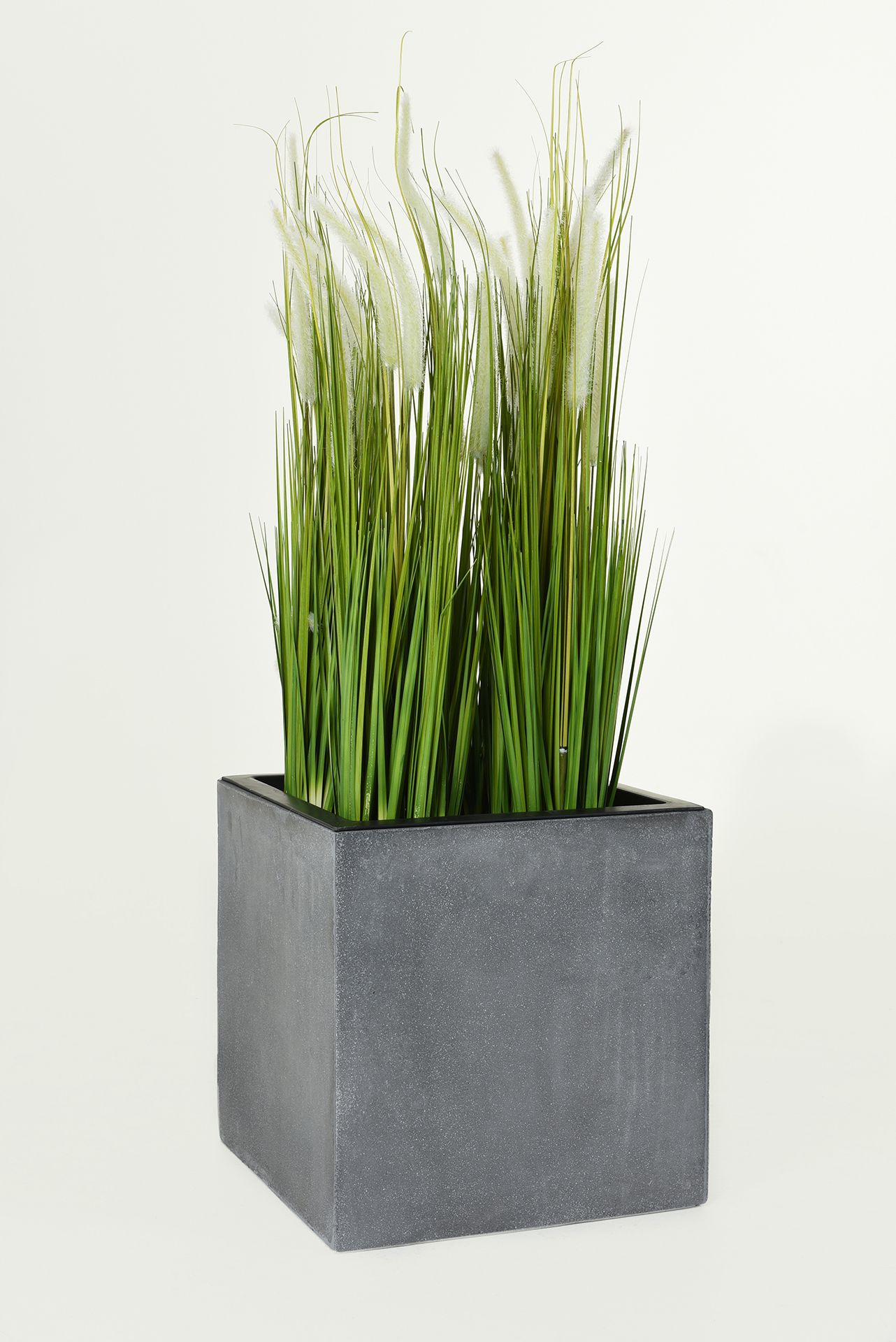 pflanzk bel blumenk bel block 50x50x50cm beton anthrazit b ware ts 977 ebay. Black Bedroom Furniture Sets. Home Design Ideas