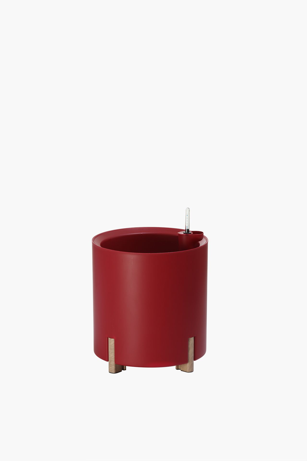 pflanzk bel blumenk bel kunststoff rund mondum tondo 40 cm rot ebay. Black Bedroom Furniture Sets. Home Design Ideas