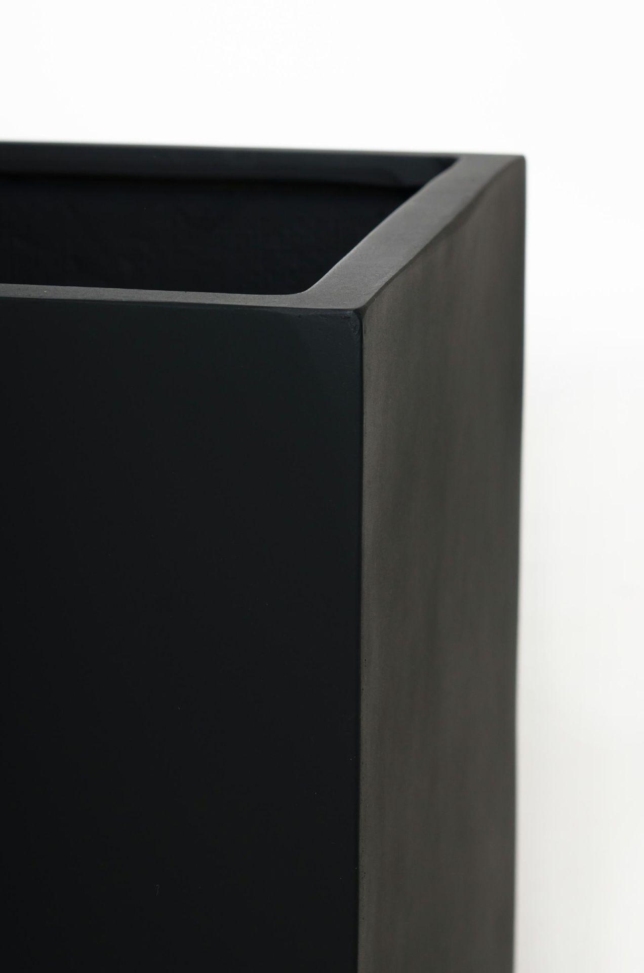 vivanno blumenk bel pflanztrog fiberglas maxi anthrazit 80cm ae trade online. Black Bedroom Furniture Sets. Home Design Ideas